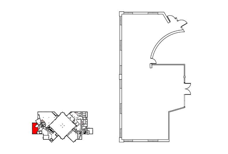 Plan salle petit fort