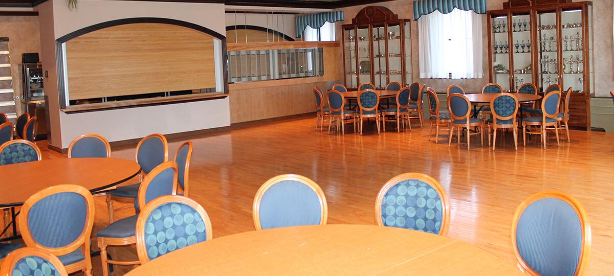 Salle de réception Le portage