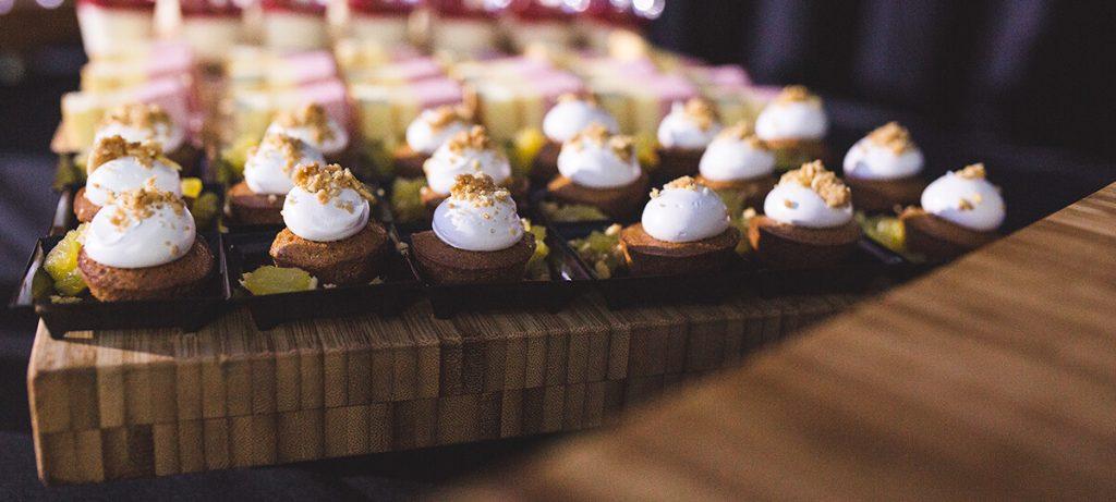 Petites bouchées de desserts