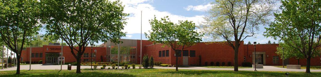 Le pavillon Dextraze du Collège militaire royal de Saint-Jean, 2013