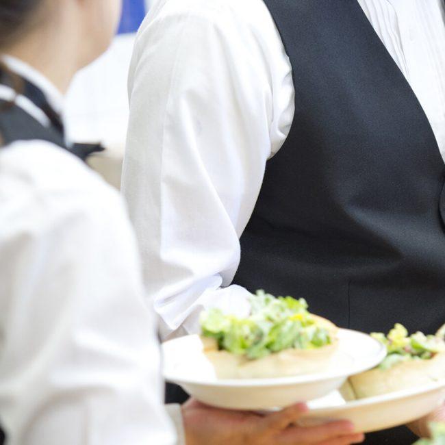 Service de salade