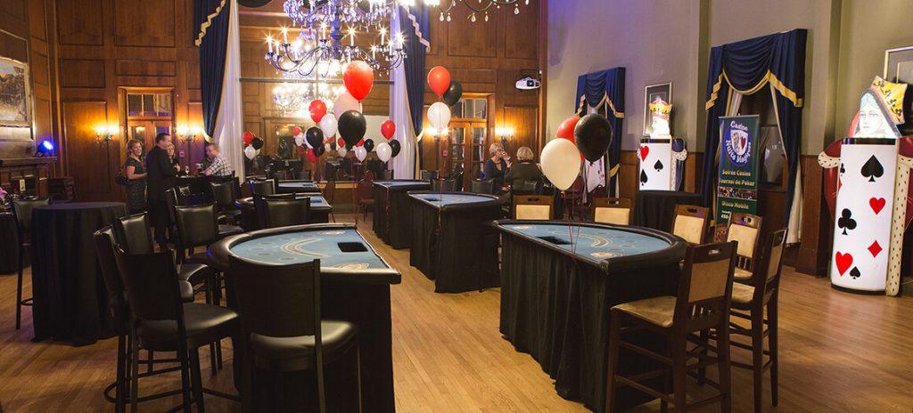 Salon Richelieu lors d'un événement casino